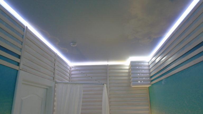 №05 Парящий потолок с фотопечатью