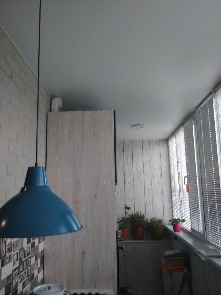 №26 Балкон, белый матовый