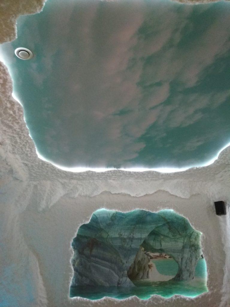 №29 Соляная пещера, парящий с фотопечатью и подстветкой