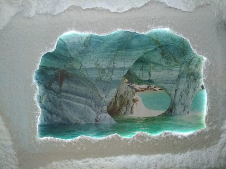 №36 Соляная пещера, фотопечать с подсветкой