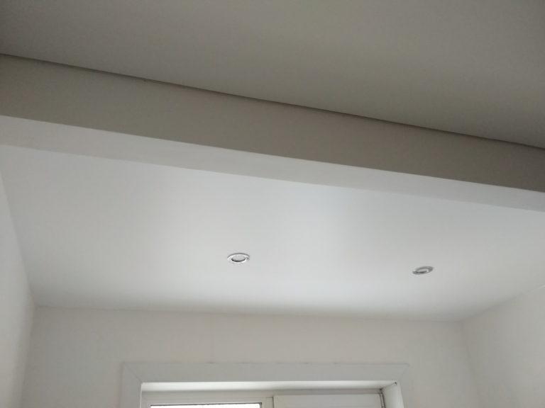 №60 Балкон белый матовый